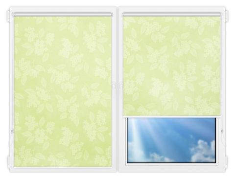 Рулонные шторы Мини - Бетти-601 на пластиковые окна