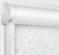 Рулонные кассетные шторы УНИ - Калипсо белый