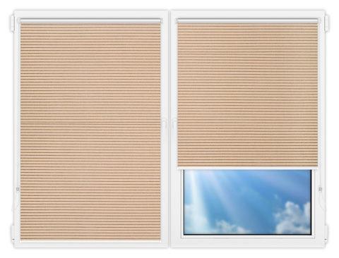 Рулонные шторы Мини - Калисто-18 на пластиковые окна