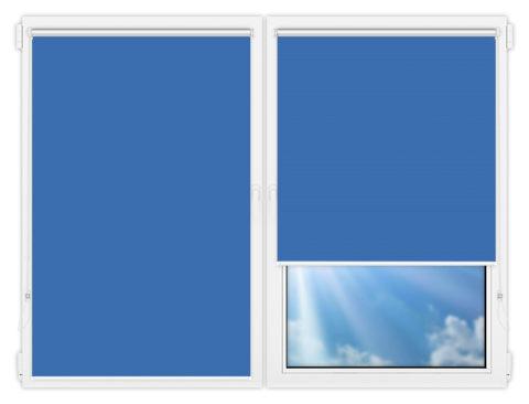 Рулонные шторы Мини - Мюнхен-блэкаут-56 на пластиковые окна