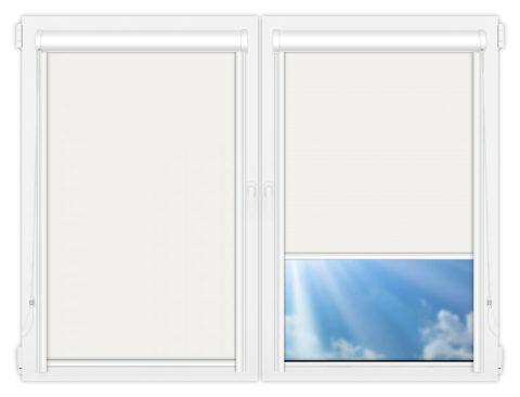 Рулонные кассетные шторы УНИ - Мюнхен-блэкаут-62