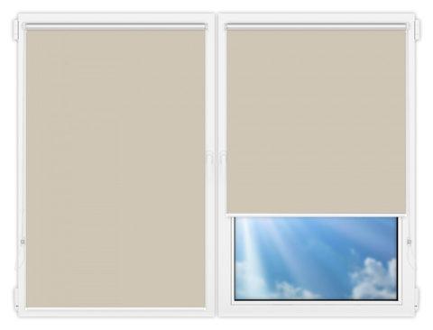 Рулонные шторы Мини - Мюнхен-блэкаут-65 на пластиковые окна