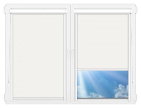 Рулонные кассетные шторы УНИ - Мюнхен-перл-1