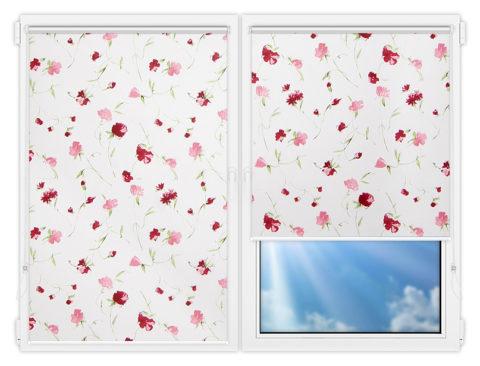 Рулонные шторы Мини - Нельке-3 на пластиковые окна