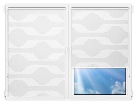 Рулонные шторы Мини - Вискан-1 на пластиковые окна