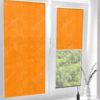 Рулонные кассетные шторы УНИ - Анже апельсиновый