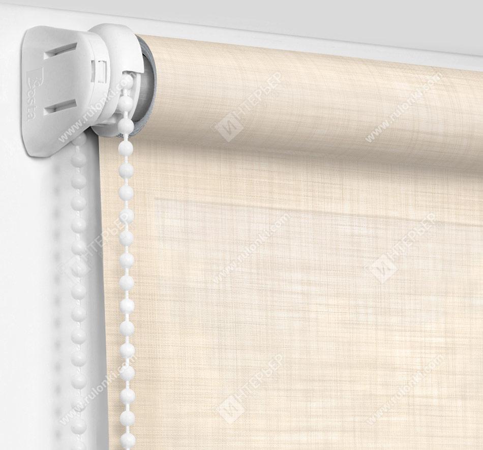 Рулонные шторы Мини - Анже кремовый