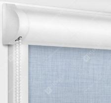 Рулонные кассетные шторы УНИ - Анже блэкаут серый