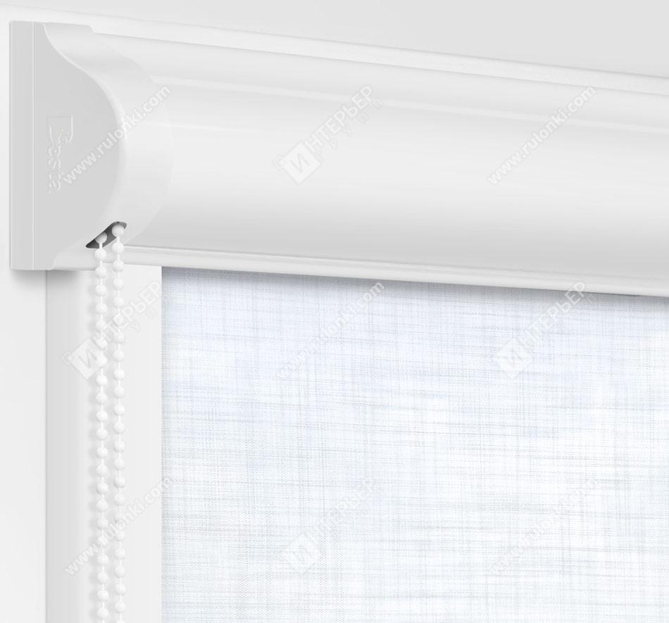 Рулонные кассетные шторы УНИ - Анже сильвер