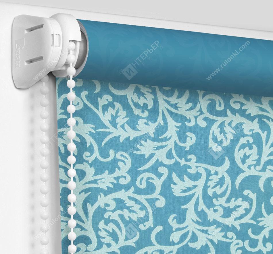 Рулонные шторы Мини - Фрост голубой