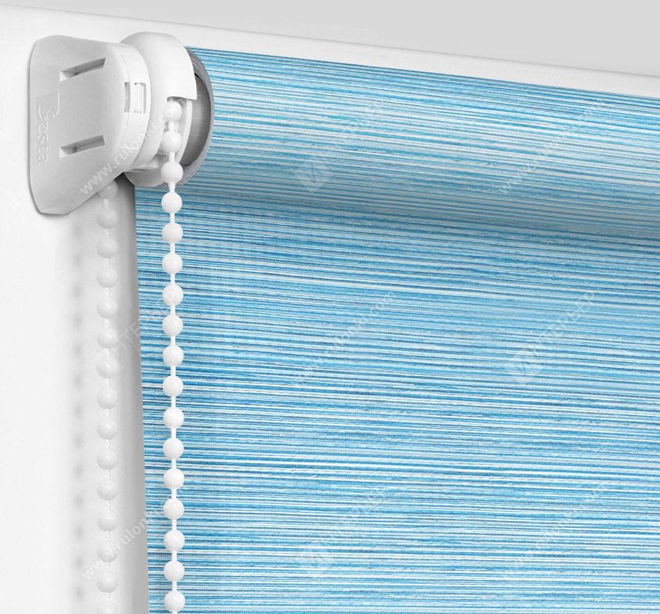 Рулонные шторы Мини - Корсо голубой