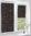 Рулонные кассетные шторы УНИ – Шейд коричневый