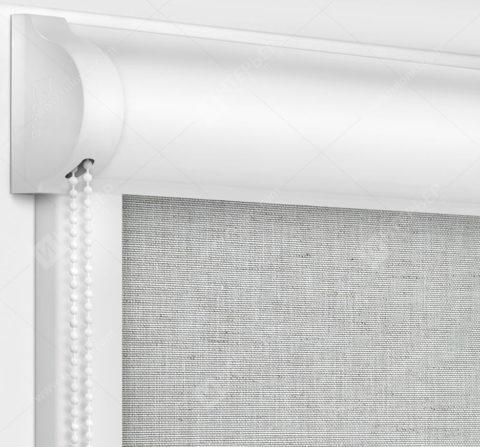 Рулонные кассетные шторы УНИ - Сахара серый