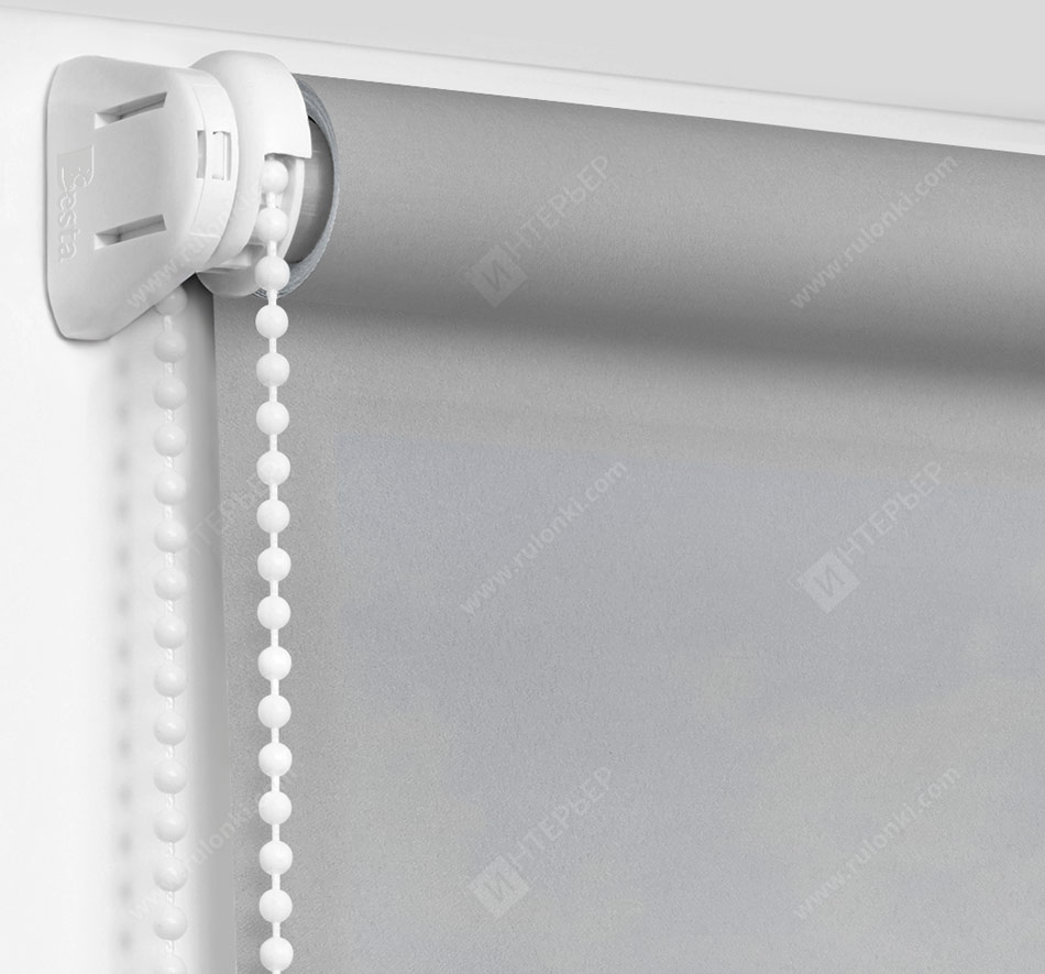 Рулонные шторы Мини - Куба серый