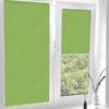 Рулонные кассетные шторы УНИ - Аллегро Перл зеленый