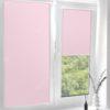 Рулонные кассетные шторы УНИ - Мадагаскар розовый