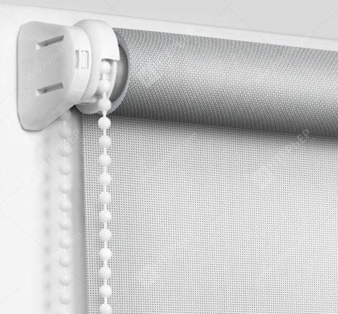 Рулонные шторы Мини - Сильвер скрин белый