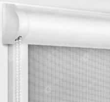 Рулонные кассетные шторы УНИ - Сильвер скрин серый