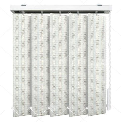 Вертикальные тканевые жалюзи Эдем светло-бежевый на пластиковые окна - купить по низкой цене