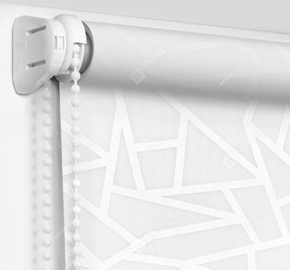 Рулонные шторы Мини - Кастелло серый