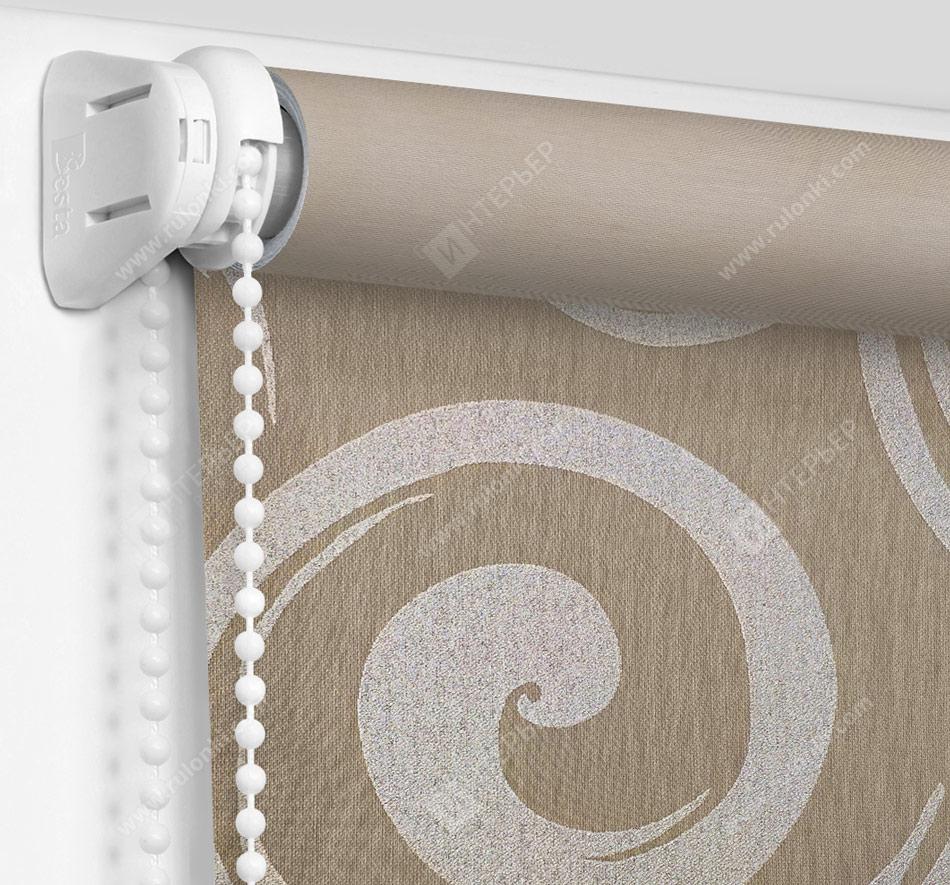 Рулонные шторы Мини - Сейшелы коричневый