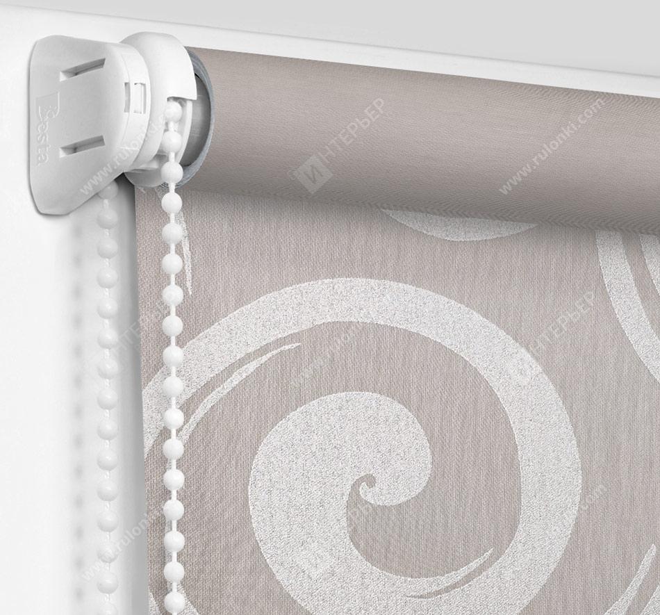 Рулонные шторы Мини - Сейшелы серый