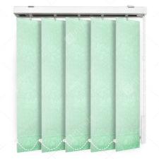 Вертикальные тканевые жалюзи Адель светло-зеленый