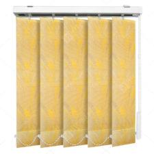 Вертикальные тканевые жалюзи Палома желтый