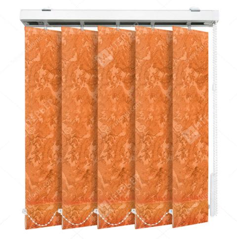 Вертикальные тканевые жалюзи Шёлк коралловый
